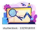 laptop and software assisting... | Shutterstock .eps vector #1325018333