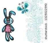bunny. vector illustration   Shutterstock .eps vector #1325022590