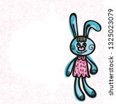 bunny. vector illustration   Shutterstock .eps vector #1325023079