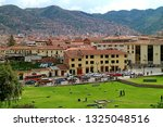 cityscape of cusco old city as... | Shutterstock . vector #1325048516