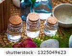 spa and wellness. floral water...   Shutterstock . vector #1325049623
