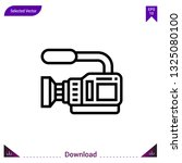 video camera icon vector . best ...