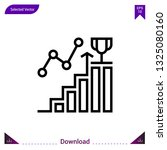statistics icon vector . best...