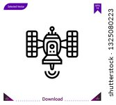 satellite icon vector . best...