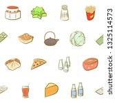 food images. background for... | Shutterstock .eps vector #1325114573