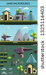 game backgrounds mobile   Shutterstock .eps vector #1325116403