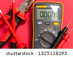 electric tools for installing... | Shutterstock . vector #1325118293