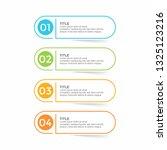 infographic design template... | Shutterstock .eps vector #1325123216