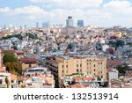 istanbul roofs | Shutterstock . vector #132513914