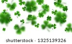 saint patrick's day border with ... | Shutterstock .eps vector #1325139326