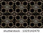 seamless textured curls....   Shutterstock . vector #1325142470