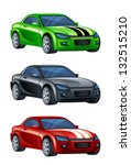 automobile | Shutterstock .eps vector #132515210