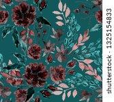 watercolor seamless pattern... | Shutterstock . vector #1325154833