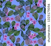 seamless pattern with hand... | Shutterstock . vector #1325175056