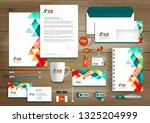 corporate business  identity... | Shutterstock .eps vector #1325204999