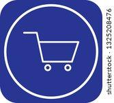 vector trolley icon  | Shutterstock .eps vector #1325208476