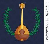 buzuky instrument isolated icon | Shutterstock .eps vector #1325227190