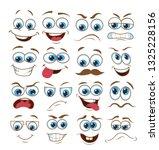 face expression set. vector...   Shutterstock .eps vector #1325228156