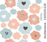seamless pattern with simple... | Shutterstock .eps vector #1325231120