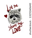 let me share my love slogan... | Shutterstock .eps vector #1325260640