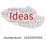 vector concept or conceptual... | Shutterstock .eps vector #1325291933