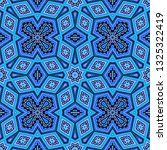 blue seamless  mosaic vector... | Shutterstock .eps vector #1325322419