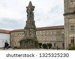 santiago de compostela  spain   ... | Shutterstock . vector #1325325230