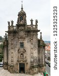 santiago de compostela  spain   ... | Shutterstock . vector #1325325233