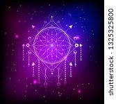 vector illustration of sacred... | Shutterstock .eps vector #1325325800