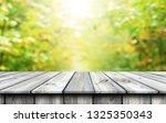 empty wooden table background | Shutterstock . vector #1325350343