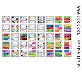 modern banner design template....   Shutterstock .eps vector #1325351966