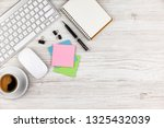 accounting. items for doing... | Shutterstock . vector #1325432039