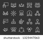 set of business people icons ... | Shutterstock .eps vector #1325447063