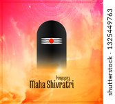 abstract mahashivratri festival ...   Shutterstock .eps vector #1325449763