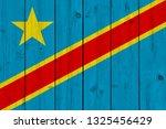 democratic republic of the... | Shutterstock . vector #1325456429