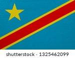 democratic republic of the... | Shutterstock . vector #1325462099