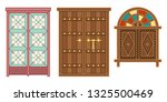 old traditional heritage icons... | Shutterstock .eps vector #1325500469