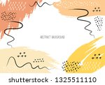artistic creative cards with... | Shutterstock .eps vector #1325511110