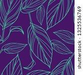 vector seamless floral pattern... | Shutterstock .eps vector #1325536769