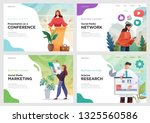 set of website template designs....
