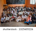 african classroom with kids 10... | Shutterstock . vector #1325605226