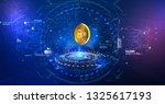 bitcoin conceptual background...