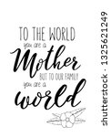 the best mom in the world ... | Shutterstock .eps vector #1325621249
