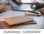closeup image of a woman's hand ... | Shutterstock . vector #1325625203