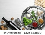 flat lay composition with... | Shutterstock . vector #1325633810