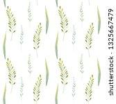 watercolor seamless pattern... | Shutterstock . vector #1325667479