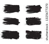 brush stroke set isolated on... | Shutterstock .eps vector #1325677370