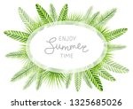 summer background with green... | Shutterstock .eps vector #1325685026