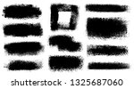 brush strokes. vector... | Shutterstock .eps vector #1325687060