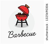 barbecue sign poster | Shutterstock .eps vector #1325690306